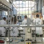 Isis Paolo Carcano laboratorio di chimica, foto di M. Butti